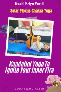 Ardha-pawanmuktasana, Kundalini yoga to ignite your inner fire| nabhi Kriya for solar plexus Chakra