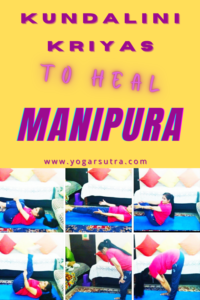 Third chakra balancing Kundalini yoga for willpower and motivation.