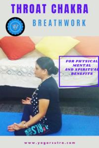 Vishuddha Pranayama To Balance Vishuddha Chakra. Throat Chakra yoga