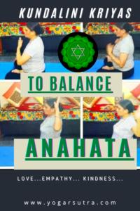 Kundalini yoga kriyas to balance Anahata #heart_Chakra_yoga; how to balance heart Chakra