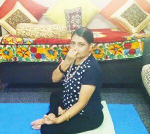 Anulom vilom Pranayama for yoga and energy healing for post corona recovery..